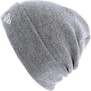 New Era Flecklable Knit Beanie schwarz/weiß