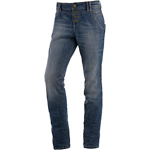 TOM TAILOR Relaxed Tapered Boyfriend Jeans Damen denim