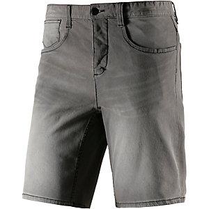 HUMÖR Dukky Jeansshorts Herren grau