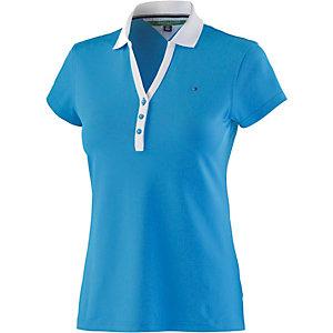 Tommy Hilfiger Meryl SS Polo Poloshirt Damen hellblau
