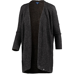 TOM TAILOR Strickjacke Damen anthrazit