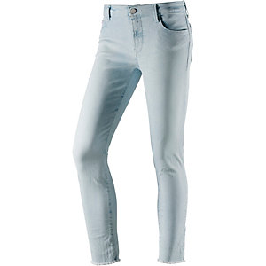 REPLAY Röhrenhose Damen bleached denim