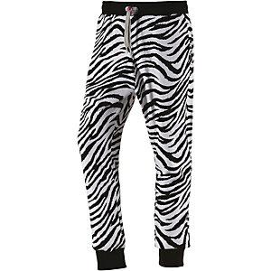 Sweet Pants Sweathose Damen weiß/schwarz