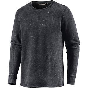 TOM TAILOR Sweatshirt Herren grau/weiß