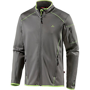OCK Stretch Fleece Fleecejacke Herren grau