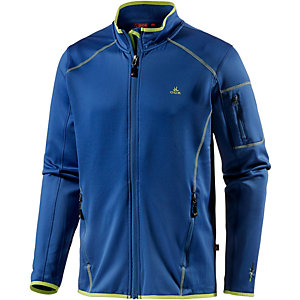 OCK Stretch Fleece Fleecejacke Herren dunkelblau