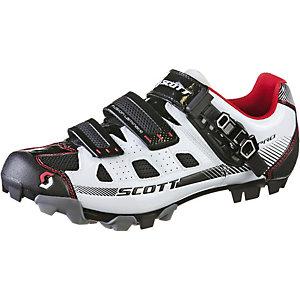SCOTT Pro Fahrradschuhe Herren weiß/schwarz