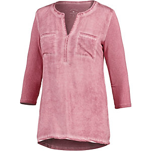 TOM TAILOR Langarmshirt Damen rose