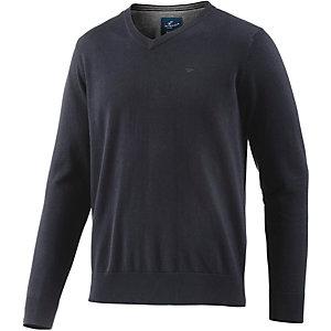 TOM TAILOR V-Pullover Herren dunkelblau
