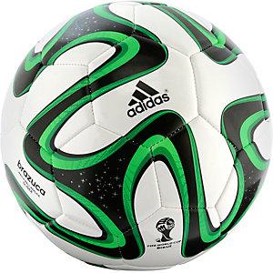 adidas BRAZUCA GLIDER Fußball weiß/grün
