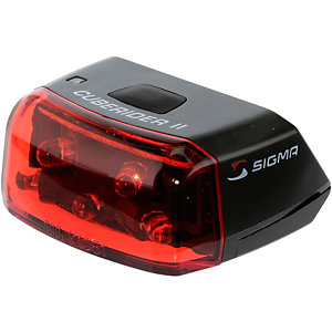 SIGMA Cuberider II Fahrradbeleuchtung schwarz