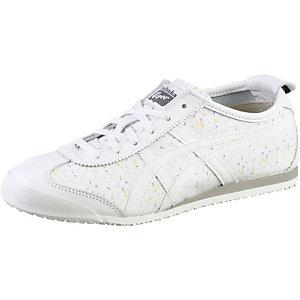 asics damen sneakers weiß