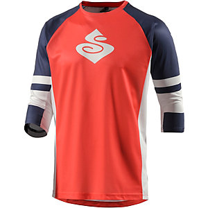 Sweet Protection Mission Jersey Funktionsshirt Herren orange/weiß/blau