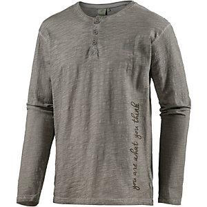 PrimEmotion Jersey Langarmshirt Herren grau