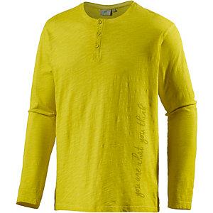 PrimEmotion Jersey Langarmshirt Herren grün
