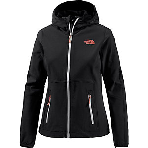 The North Face Xerxes Softshelljacke Damen schwarz
