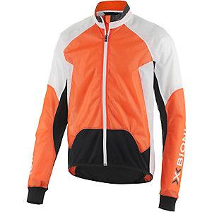 X-Bionic Radjacke Spherewind Fahrradjacke Herren orange