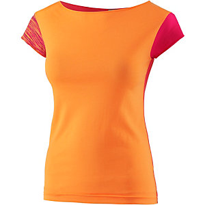 PrimEmotion Jersey T-Shirt Damen orange