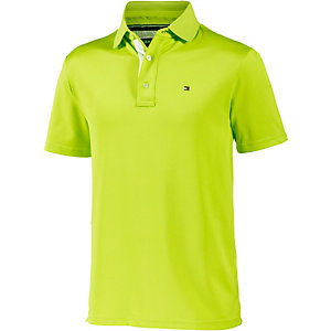 Tommy Hilfiger SS Solid Pique Polo Poloshirt Herren limette
