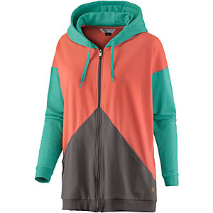 Nikita Stark Hoodie Damen orange/mint