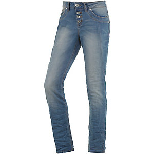 TOM TAILOR Boyfriend Jeans Damen destroyed denim