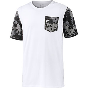 nike power grid t shirt herren wei im online shop von sportscheck. Black Bedroom Furniture Sets. Home Design Ideas