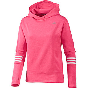 adidas Response Laufhoodie Damen pink