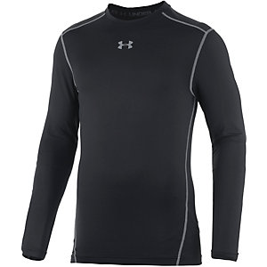 Under Armour Coldgear Armour Kompressionsshirt Herren schwarz