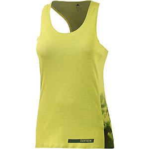 adidas Tanktop Damen gelb