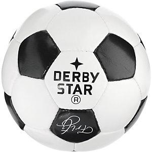 Derbystar Fußball weiß/schwarz