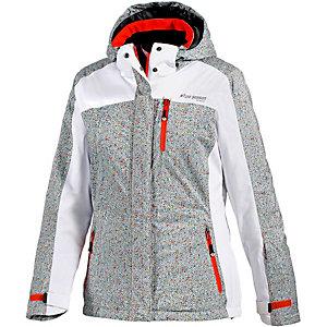 White Season Skijacke Damen hellgrau