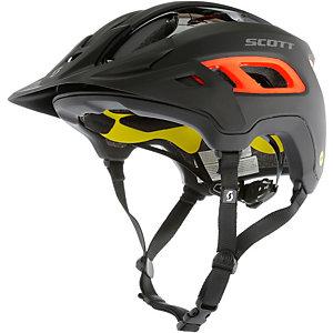 SCOTT Helm Stego Fahrradhelm schwarz/orange
