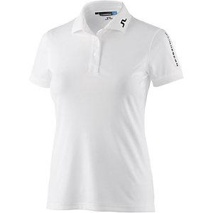 J.Lindeberg W Tour Tech Slim TX Jersey Poloshirt Damen weiß