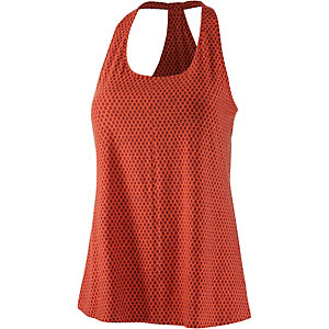 Patagonia Kiawah Funktionstop Damen rot/orange