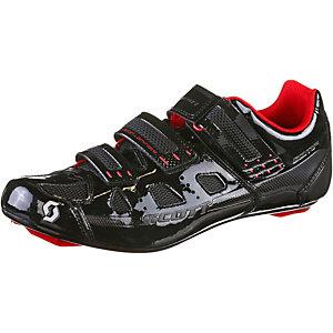 SCOTT Comp Fahrradschuhe schwarz/rot