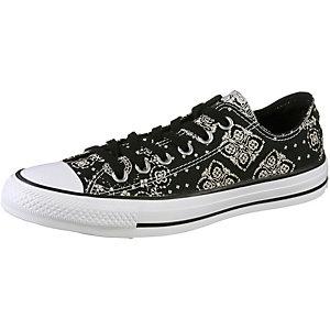 CONVERSE Sneaker Damen schwarz/weiß