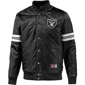 Majestic Athletic Raiders Collegejacke Herren schwarz