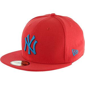 New Era 59fifty MLB Heather NY Yankees Cap rot/blau