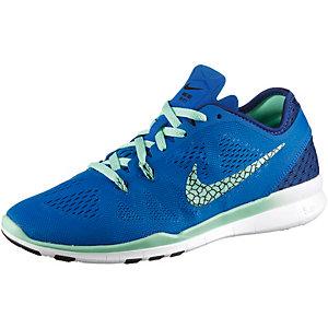 Nike Free 5.0 Damen Blau