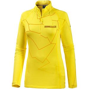 adidas Icesky Funktionsshirt Damen gelb