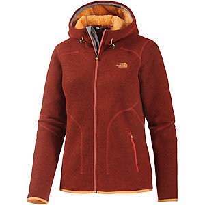 The North Face Zermatt Strickfleece Damen rotbraun