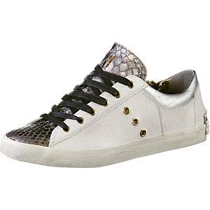 Crime Sneaker Damen weiß/braun