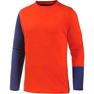 ORTOVOX Unterhemd Herren orange/navy