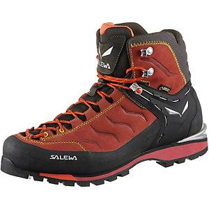 SALEWA MS Rapace GTX Alpine Bergschuhe Herren rot/schwarz