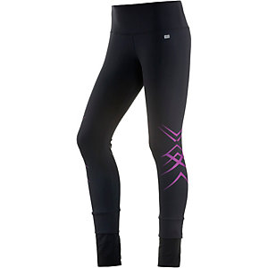 ASICS Tights Damen schwarz/lila