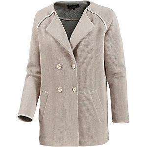Campus Strickmantel Damen beige
