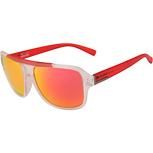 Red Bull Racing RBR263 Sonnenbrille matt transparent/matt transparent red temple