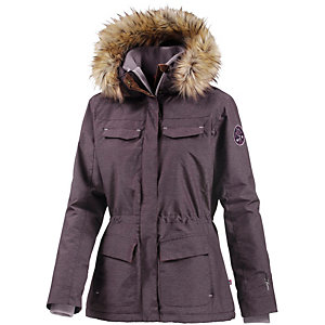 OCK Outdoorjacke Damen pflaume