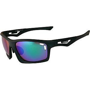 Uvex Sportstyle 700 Sportbrille schwarz/grün