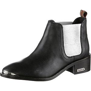 Pepe Jeans Bootie Damen schwarz/silberfarben